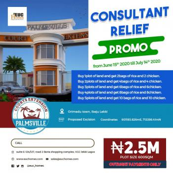 Palmsville Courts Extension, Orimedu, Ibeju Lekki, Lagos, Residential Land for Sale
