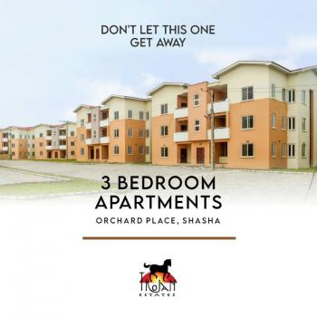 Newly Built 3 Bedroom Apartment, Akowonjo, Alimosho, Lagos, Block of Flats for Sale