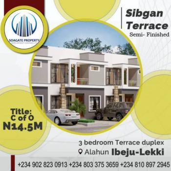 Luxury 3 Bedroom Terrace Duplex with Bq, Sibgan Avenue,  Alahun By Beechwood Estate,, Bogije, Ibeju Lekki, Lagos, Terraced Duplex for Sale