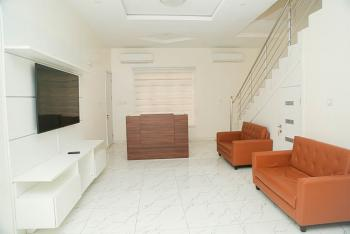 Modern, Private and Well Located, Oral Estate, Lafiaji, Lekki, Lagos, Terraced Duplex for Rent