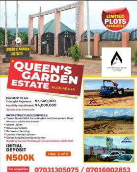 Dry and Developed R of O Estate Land, Kuje, Abuja, Residential Land for Sale