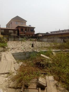 Fenced and Gated Land with Solid Foundation for 8 Flat, Off Agunlejika Street, Off Oshodi-apapa Express, Ijesha, Surulere, Lagos, Residential Land for Sale