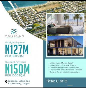 C of O, Maiyegun Beach Estate, Jakande, Lekki, Lagos, Mixed-use Land for Sale