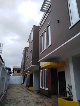 Newly Built 4 Bedroom Terraced Duplex with Bq, Opebi Estate, Opebi, Ikeja, Lagos, Terraced Duplex for Sale