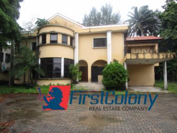 5 Bedroom Detached House on Large Grounds for Office Or Residence, Off Bourdillon Road, Old Ikoyi, Ikoyi, Lagos, Detached Duplex for Sale