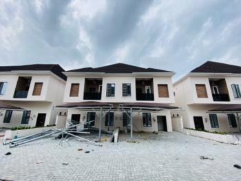 Fully Serviced 4 Bedroom Duplex with a Room Bq, Ikota, Lekki, Lagos, Semi-detached Duplex for Rent
