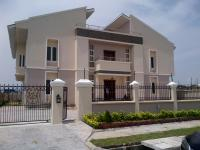 Newly Built Archetectural Masterpiece With Trendy Finish & Fittings 5-bedroom (spacious)duplex With 2-rooms Bq & Gym House On 856 Sqms In Pinnock Estate, , Lekki, Lagos, 6 Bedroom, 9 Toilets, 6 Baths House For Sale