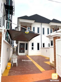 Spacious 4 Bedroom Semi Detached Duplex with a Room Bq and Car Space, By 2nd Toll Gate, Lafiaji, Lekki, Lagos, Semi-detached Duplex for Sale