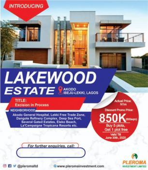 Land, Lakewood Estate, Ibeju Lekki, Lagos, Mixed-use Land for Sale