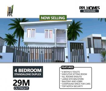 4 Bedroom Duplex, Vip Gardens, Boys Town, Ipaja, Lagos, House for Sale