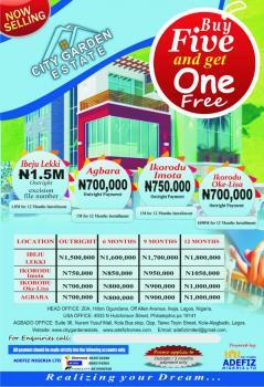 Land, Oke Lisa Community City Garden Estate , Lagos State, Igbogbo, Ikorodu, Lagos, Residential Land for Sale