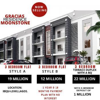 3 Bedroom Flat, Lekki Free Trade Zone, Ibeju Lekki, Lagos, Flat for Sale
