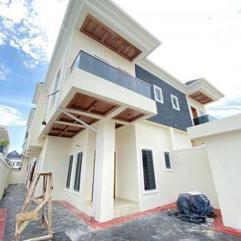 Nicely Built 4 Bedroom Semi-detached Duplex & a Room Bq, By 2nd Toll Gate, Lekki Expressway, Lekki, Lagos, Semi-detached Duplex for Sale