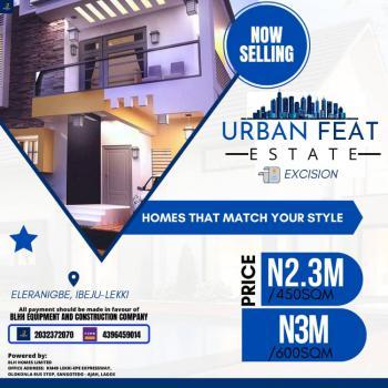 Land, Urban Feat Estate, Eleranigbe, Ibeju Lekki, Lagos, Residential Land for Sale