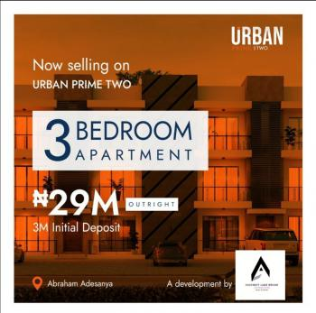 Spacious 3 Bedrooms Terraced Apartment with Governors Consent, Abraham Adesanya, Ogombo, Ajah, Lagos, Terraced Duplex for Sale