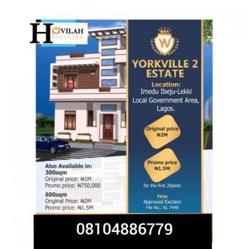 Yorkville Estate 2, Imedu, Ibeju Lekki, Lagos, Mixed-use Land for Sale