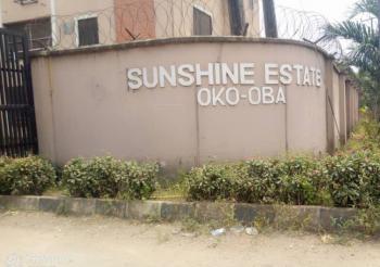 3 Bedroom Flat, Sunshine Estate, New Oko-oba, Agege, Lagos, Flat for Sale