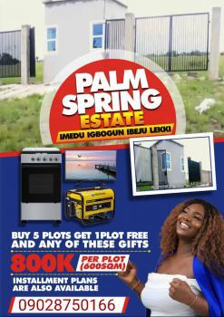 Land, Palm Spring Estate, Ibeju Lekki, Lagos, Mixed-use Land for Sale