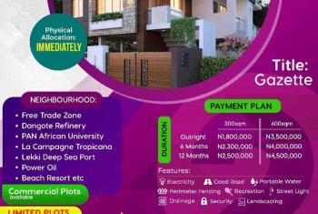 Land, Maplewoods 2 Estate, Siriwon Town, Siriwon Town, Ibeju Lekki, Lagos, Residential Land for Sale