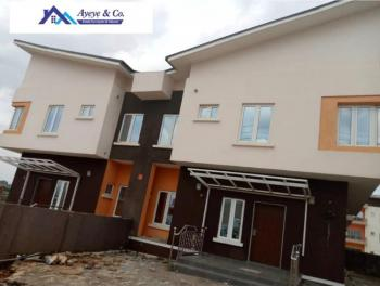 3 Nos.tastefully and Newly Finished 4 Bedroom Terrace Duplex, Line 2, Paradise Estate By Godab, Life Camp, Gwarinpa, Abuja, Terraced Duplex for Rent