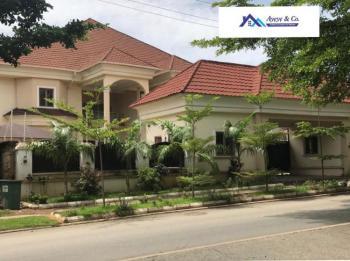 5 Bedroom Semi-detached Duplex with  2 Rooms Bq, Hassan Katstina Street, Asokoro District, Abuja, Detached Duplex for Sale