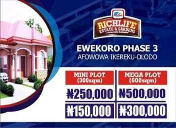 Richlife Estate Plot of Land, Richlife Estate & Gardens, Afowowa Ikereku-olodo, Itori, Ewekoro, Ogun, Mixed-use Land for Sale