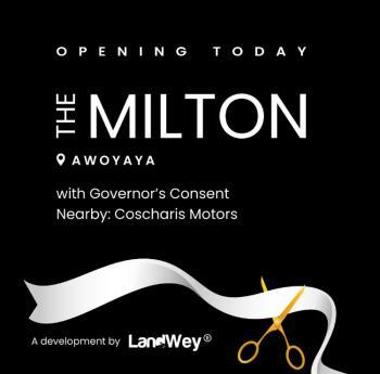 The Milton Estate, Awoyaya, Lekki Expressway, Lekki, Lagos, Residential Land for Sale