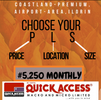 Land, Coastland Premium, Off Airport Road, Ilorin West, Kwara, Residential Land for Sale