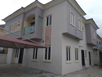 Magnificent 5 Bedroom Fully Detached Duplex with Spacious Compound, Cluster One Estate Lekki County, Ikota, Lekki, Lagos, Detached Duplex for Rent