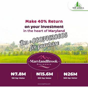 Plots of Land, Mende, Maryland, Lagos, Residential Land for Sale