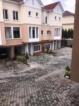 4 Bedrooms Terrace with 1 Room Bq, Diplomatic Zone, Katampe Extension, Katampe, Abuja, Terraced Duplex for Sale