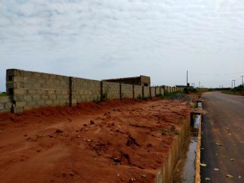Large, Fenced Land Along Major Road, Ugbor-amagba Road, Benin, Oredo, Edo, Mixed-use Land for Sale