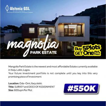 Most Affordable Land Investment, Magnolia Park, Ibeju Lekki, Lagos, Mixed-use Land for Sale