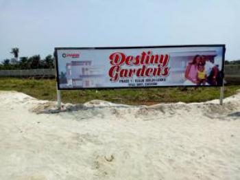 Plot of Land in a Secured Estate, Destiny Gardens Phase 1, Eluju, Ibeju Lekki, Lagos, Mixed-use Land for Sale