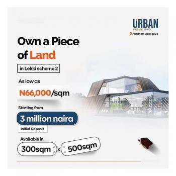 Fast Developing Land in Urban Prime Phase 2 Estate, Opposite Urban Prime Estate Phase 1 in Ajah, Immediately After Clinic, Ogombo, Ajah, Lagos, Mixed-use Land for Sale