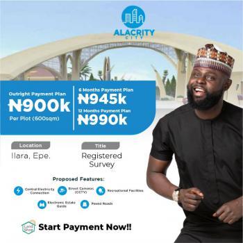Land, Alacrity City, Llara, Epe, Lagos, Residential Land for Sale