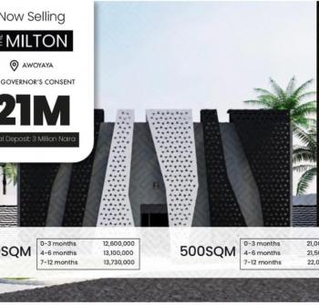 Land, Milton Estate, Awoyaya, Ibeju Lekki, Lagos, Land for Sale