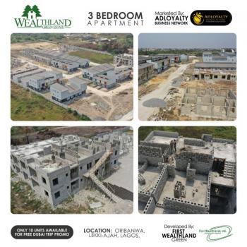 3 Bedroom Apartment, Sangotedo, Ajah, Lagos, Block of Flats for Sale