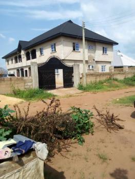Newly Built 4 Flats of 3 Bedrooms on a 100x100, Behind Zafik Hotel Ikpoba Hill, Benin, Oredo, Edo, Block of Flats for Sale