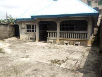 Standard 3 Bedrooms Bungalow on a Plot of Land, 80% Completed, Farm Road 2, Eliozu, Port Harcourt, Rivers, Detached Bungalow for Sale