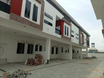 a Newly Built 4 Bedroom Terrace Duplex and Room Servant Quarters, Lafiaji, Lekki, Lagos, Terraced Duplex for Sale