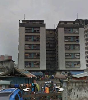 Old Twin Office Blocks on 5 Floors on 2500sqm, Marina, Lagos Island, Lagos, Office Space for Sale