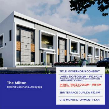 The Milton, Awoyaya, Ajah, Lagos, Terraced Duplex for Sale