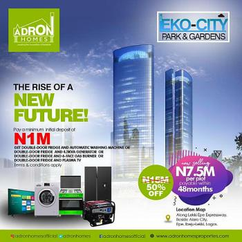 Land, Eko City Park and Garden Estate, Lagos-epe Express Way, Before Alaro City, Epe, Lagos, Mixed-use Land for Sale