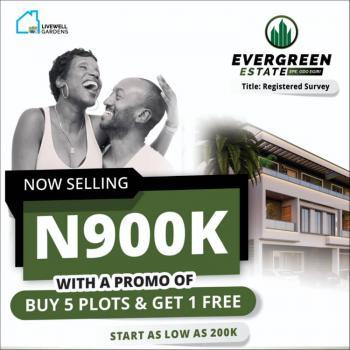 Ever Green Estate, Odo Egiri, Epe, Lagos, Mixed-use Land for Sale