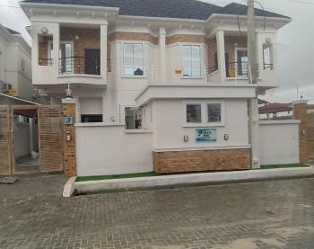 4 Bedrooms Semi Detached Duplex with a Bq and a Gate House, Off Orchid Road,by Second Tollgate, Lekki, Lagos, Semi-detached Duplex for Rent