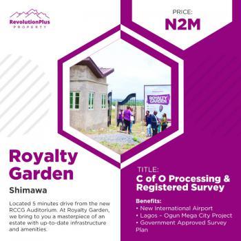 Modern & Dry Estate Land, Close to The New Auditorium, Rccg, Simawa, Ogun, Residential Land for Sale