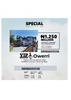 Estate Land, Owerri Facing Portharcourt Road, Ohaji/egbema, Imo, Residential Land for Sale
