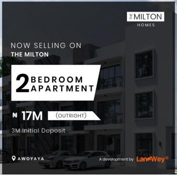 Luxurious 2 Bedroom Apartment, Awoyaya, Ajah, Lagos, Block of Flats for Sale