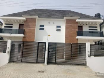 4 Bedroom Semi-detached House with a Room Bq, Idado Estate, Idado, Lekki, Lagos, Semi-detached Duplex for Sale